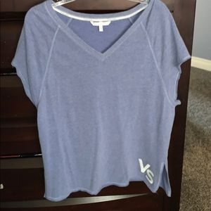 Medium Victoria secret blue sweatshirt